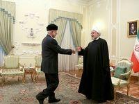 دیدار رییسجمهور با وزیر خارجه عمان +تصاویر