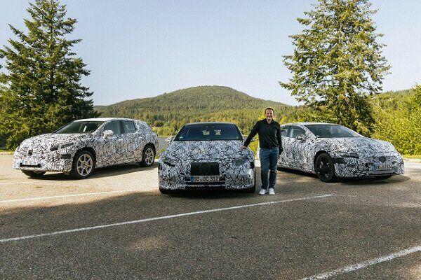 مرسدس ۶ خودروی برقی جدید تولید میکند