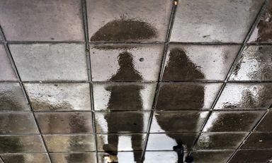 بارش باران تابستانی در رشت