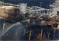 طوفان ۷۰درصد تولید نفت آمریکا در خلیج مکزیک را متوقف کرد
