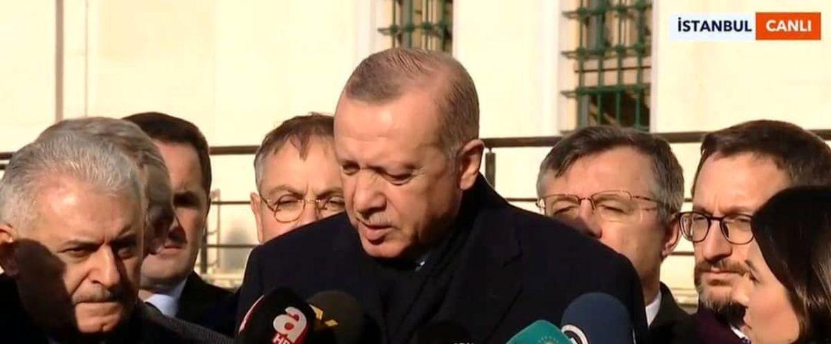 واکنش اردوغان به ورود ارتش سوریه به منبج