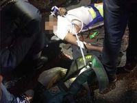 حمله با خودرو به سوی عزاداران حسینی +عکس