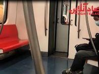 رعایت فاصلهگذاری در شلوغترین خط متروی پکن +فیلم