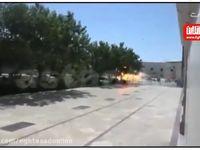 لحظه انفجار انتحاری در حرم امام (ره) +فیلم