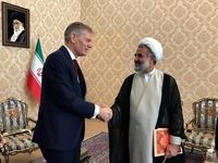 توئیت سفیر انگلیس در ایران بعد از دیدار با ذوالنور
