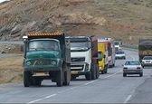 ممنوعیت تردد وسایل نقلیه سنگین در روز تحلیف