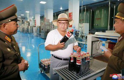 بازدید رهبرکره شمالی از کارخانه تن ماهی