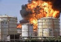 خسارت 60میلیونیورویی آتش در پتروشیمی