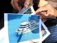 کشتی ۵ طبقه تفریحی در راه بندر ترکمن