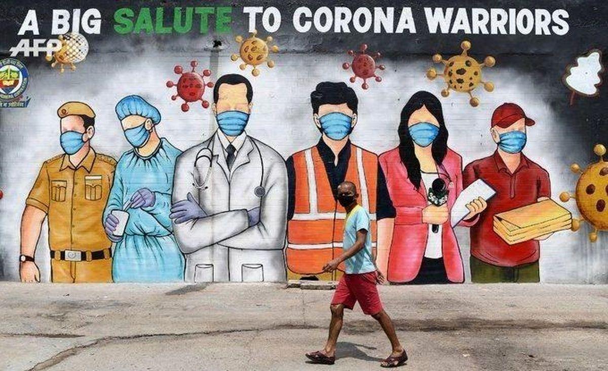 روزگار کرونایی گرافیتیها در هند
