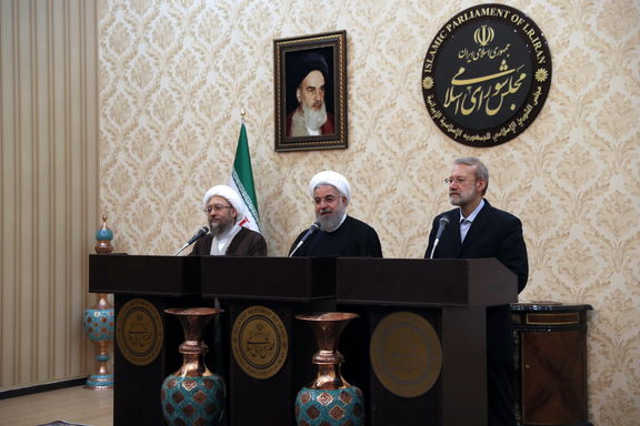 روحانی: نیاز ارزی در زمینه واردات یا خدماتی مردم برآورده میشود/ تاکید روسای سه قوه بر همفکری و هماهنگی برای حل مشکلات کشور