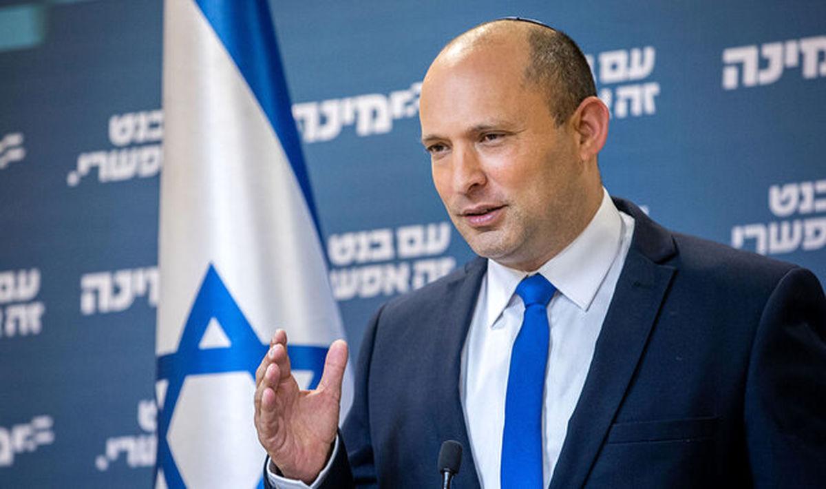 """بنت: تشکیل کشور فلسطین """"اشتباه"""" است"""