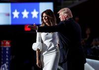 اشتباه عجیب همسر ترامپ
