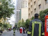 آتش در هتل آسمان آرام گرفت