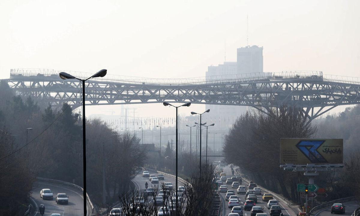 افزایش موارد قلبی و تنفسی در تهران