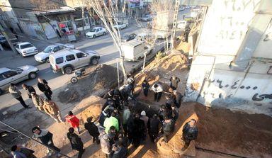 کشف گور دسته جمعی در تبریز