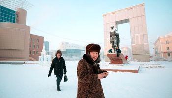 زمستان در سردترین شهر دنیا +تصاویر