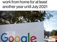 تمدید دورکاری در شرکتهای بزرگ جهانی/ کارکنان گوگل میتوانند تا سال بعد دورکار باشند