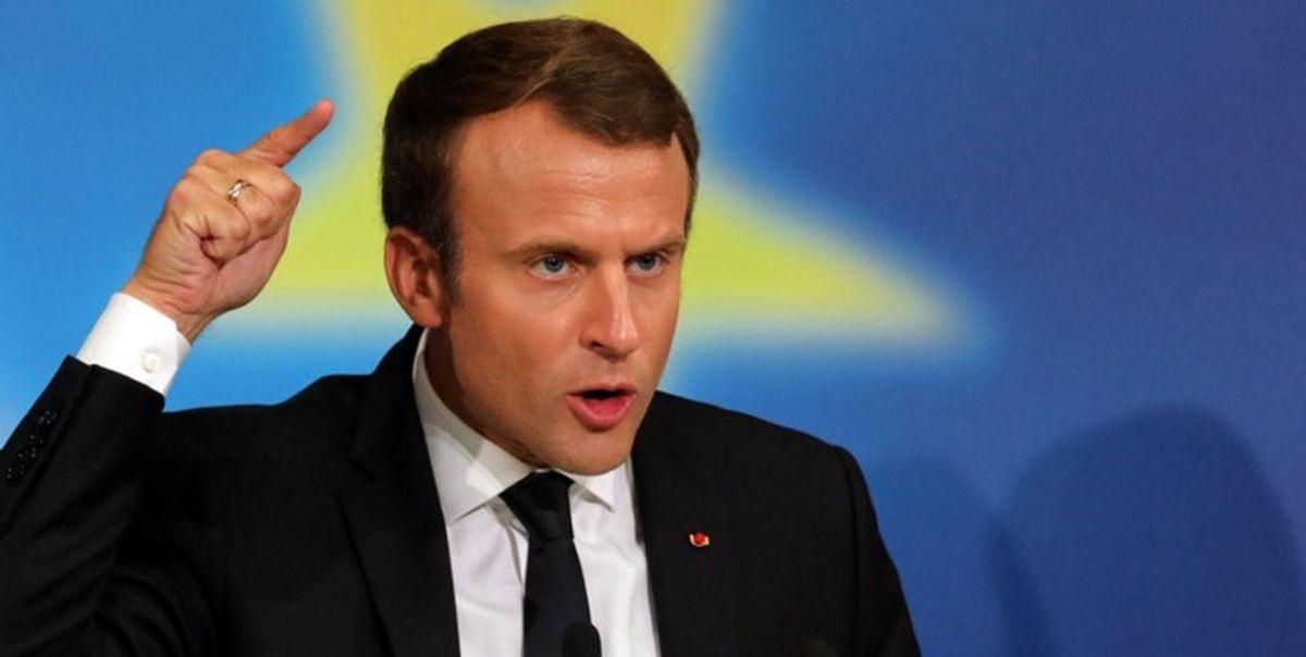 رئیس جمهور فرانسه وارد پایتخت لبنان شد