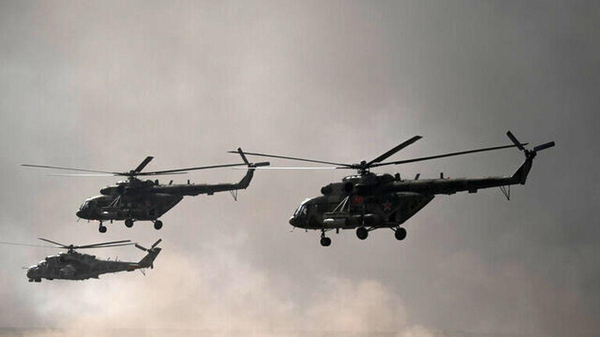 بیش از ۱۰۰بالگرد ساخت روسیه به دست طالبان افتاده است