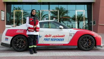 آمبولانسهای لاکچری در دوبی +عکس