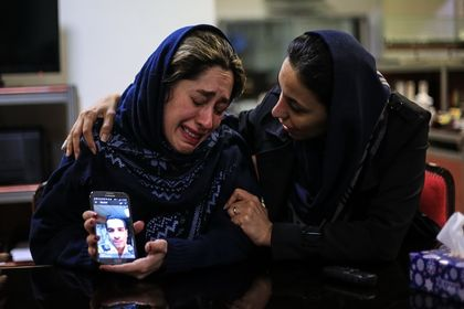 اشک و اندوه خانوادههای دریانوردان نفکش سانچی +تصاویر