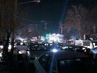 هجوم مردم سلماس به خیابان
