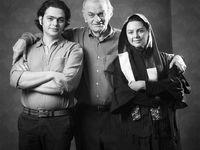عکس خانوادگی بازیگر پیشکسوت