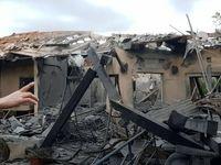 حمله موشکی به تلآویو +تصاویر