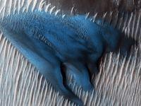 تصاویر زیبای ناسا از کره مریخ +تصاویر