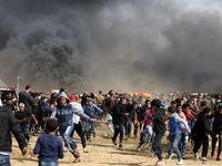 پنجمین جمعه اعتراضی در غزه +عکس