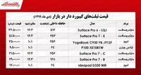 قیمت انواع تبلت کیبورد دار ۳۰دی +جدول