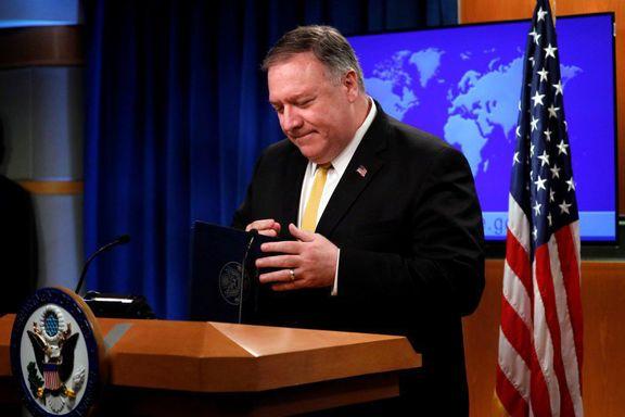 پامپئو: ایران را مجبور به مذاکره میکنیم