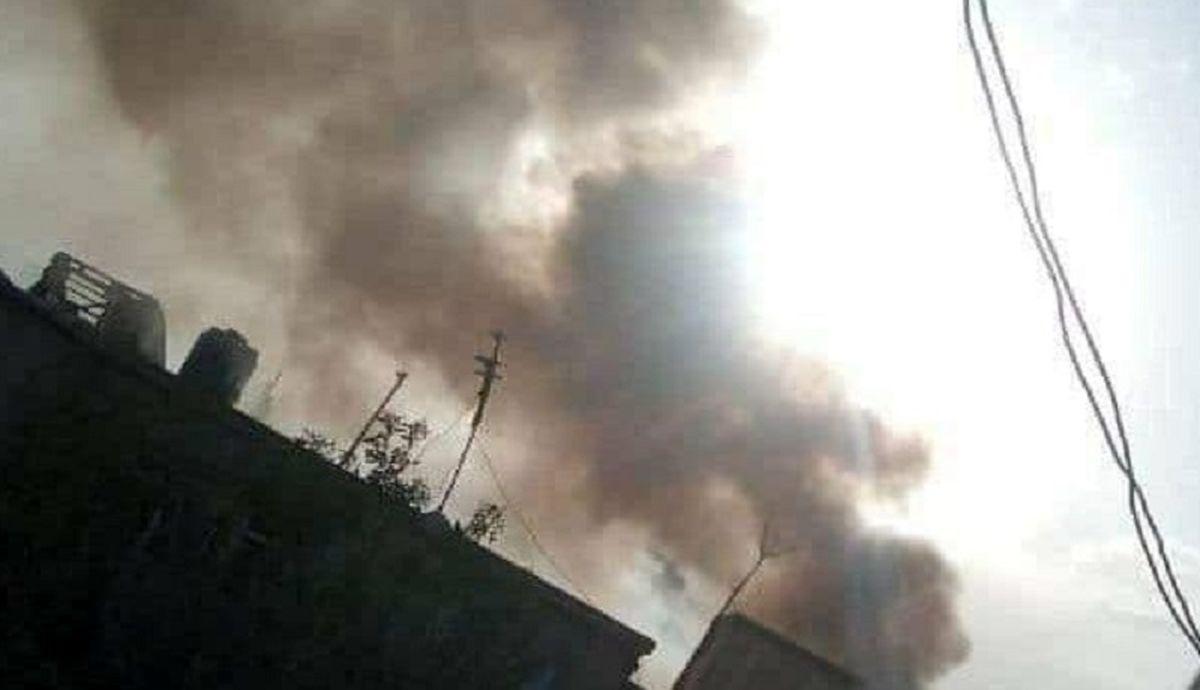 انفجار در نزدیکی فرودگاه بینالمللی کابل + فیلم