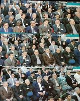 سفرای کشورهای خارجی در مراسم ارتحال امام(ره) +عکس