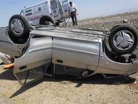 ۲کشته و 5زخمی در تصادفات جادهای