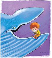مراقب این نهنگ آبی باشید! (کاریکاتور)