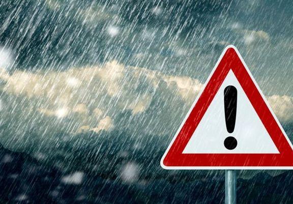 برف و باران ۲روزه در ۱۱استان