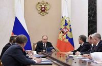 دستور پوتین برای آتش بس انسان دوستانه در غوطه شرقی