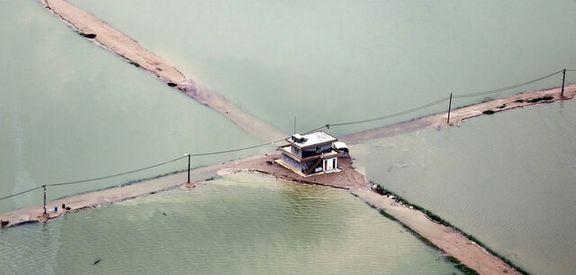 ایجاد دایکهای حفاظتی برای روستاهای بحرانی خوزستان در مقابل سیل