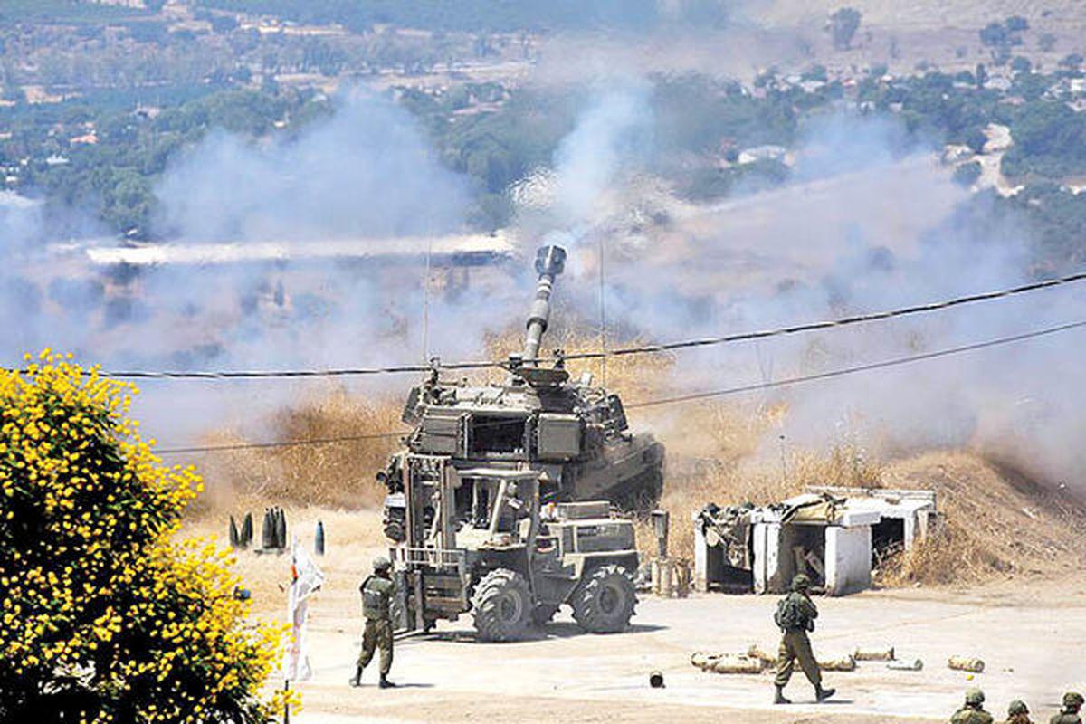 وضعیت جنگی در مرز لبنان و اسرائیل