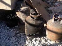 انفجار کپسول گاز 1کشته و ۲مصدوم بر جای گذاشت