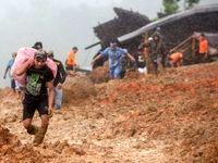 رانش زمین در اندونزی ۹ کشته برجای گذاشت +تصاویر