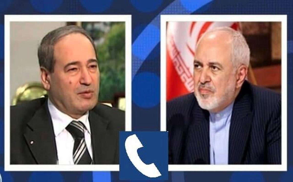 ظریف بر مشروعیت برگزاری انتخابات ریاست جمهوری سوریه تاکید کرد