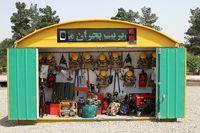۱۵کانکس تجهیزات امداد و نجات در اختیار مدارس پایتخت قرار گرفت