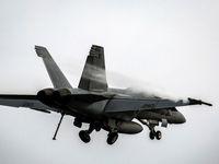 سقوط جنگنده نیروی دریایی آمریکا در نزدیکی دره مرگ کالیفرنیا