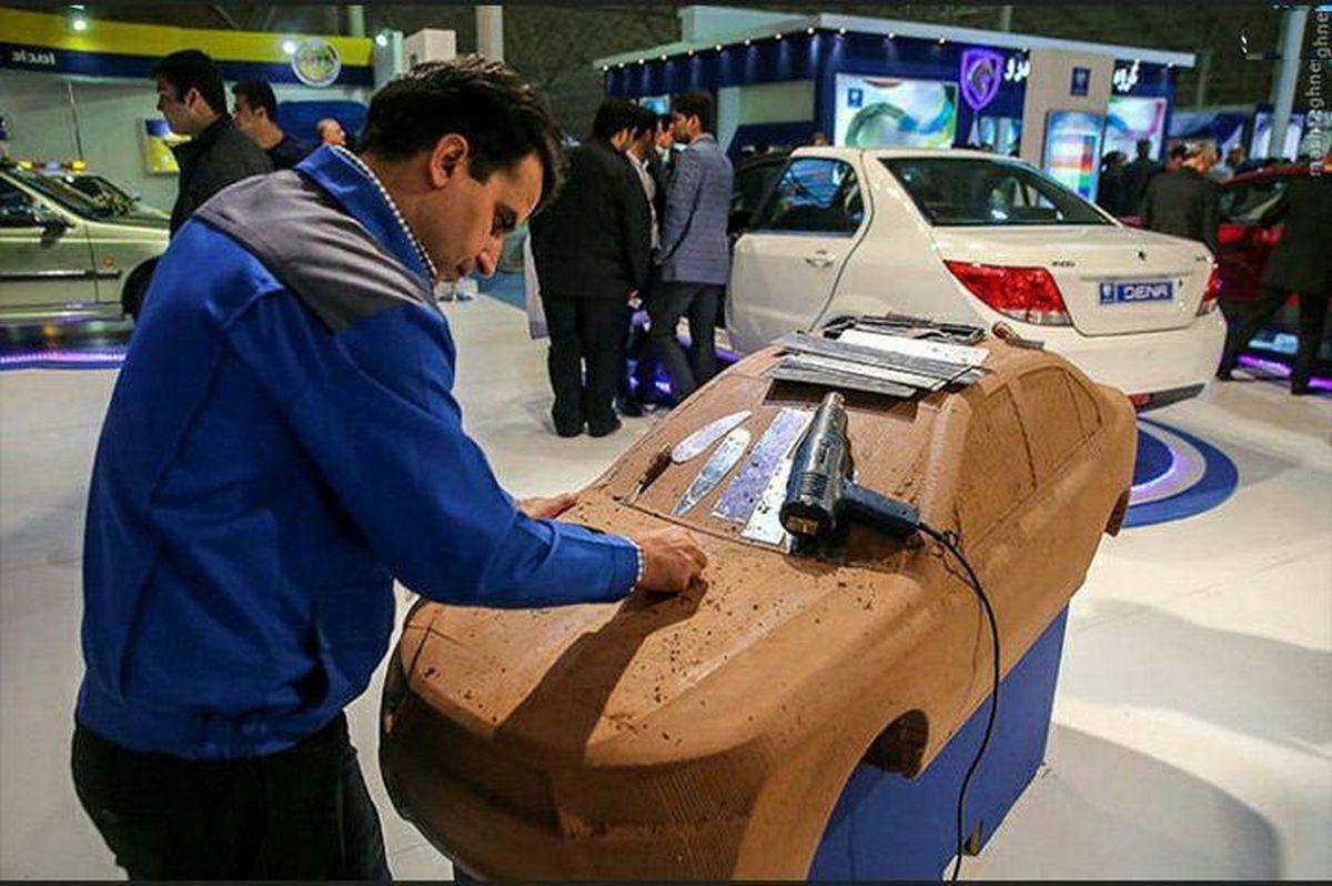 طراحی کراس اوور ایران خودرو روی پلتفرم ملی