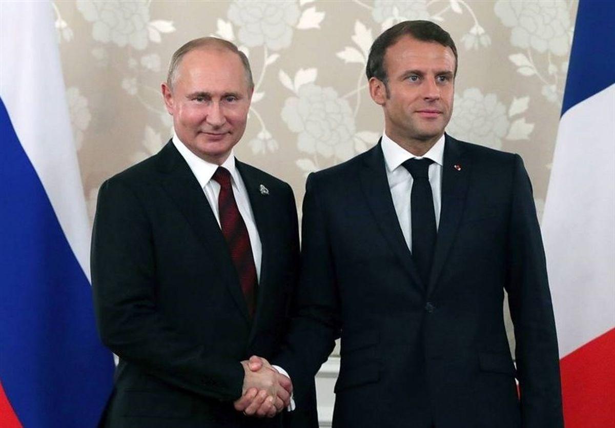 ابراز نگرانی پوتین و ماکرون از پیامدهای ترور سردار سلیمانی