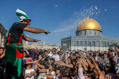 نماز عیدقربان در سراسر جهان