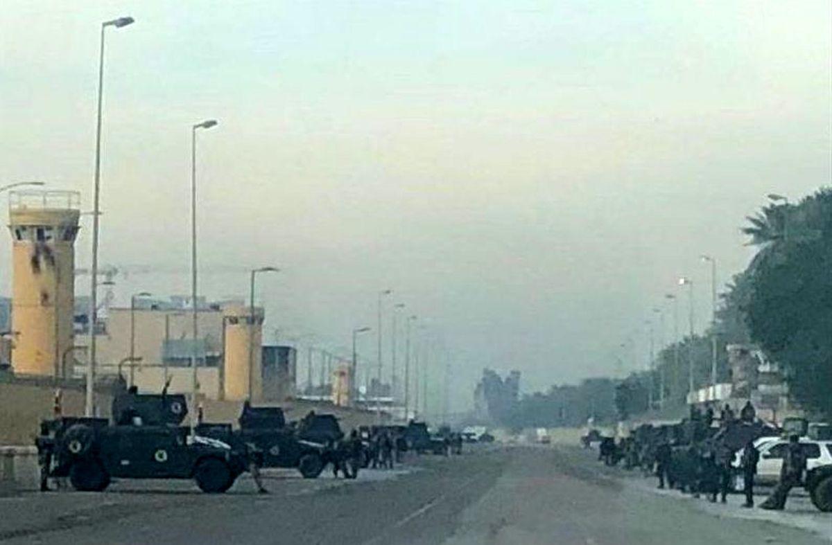 العربیه: تدابیر شدید امنیتی در اطراف سفارت آمریکا در بغداد